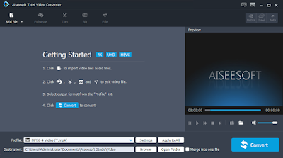 Aiseesoft Total Video Converter - Giveaway Registration Code