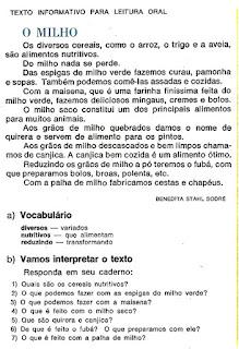 Leitura para alfabetização