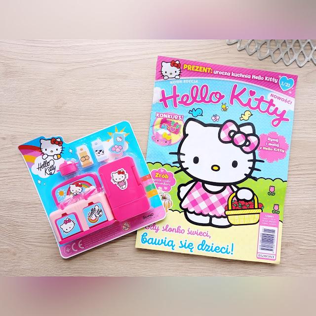 Czasopismo Hello Kitty - nowość od Wydawnictwa Egmont