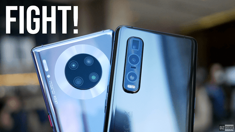 Watch: OPPO Find X2 Pro First Camera Samples vs Huawei Mate 30 Pro