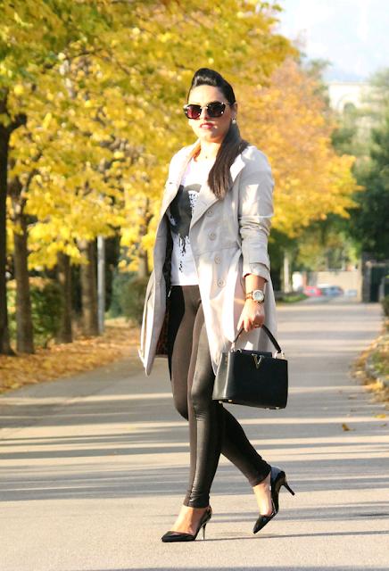 Outfits con calzas de moda