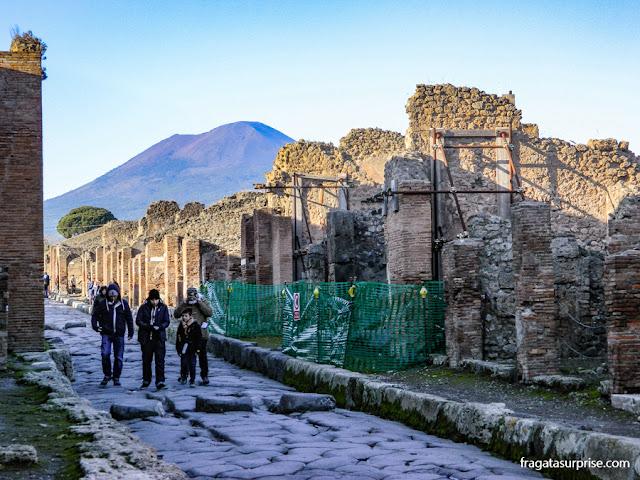 Sítio Arqueológico de Pompeia