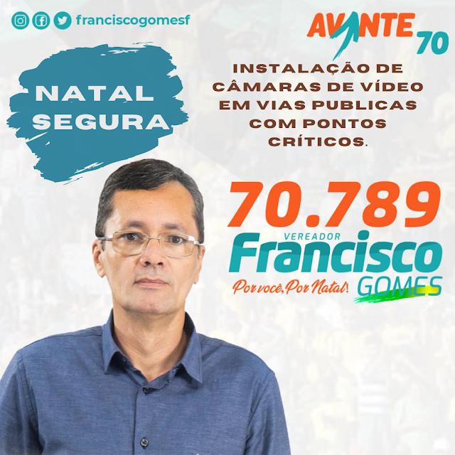 Blogueiro Francisco Gomes disputa vaga na Câmara Municipal de Natal