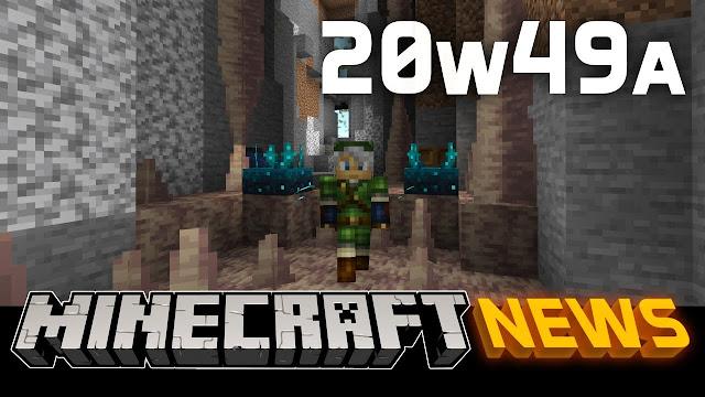 Minecraft: Java Edition - Snapshot 20w49a