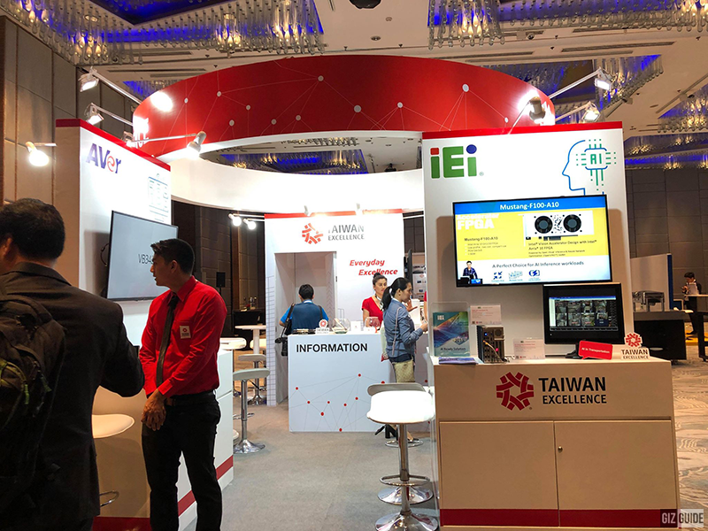 Another booth present in Taiwan Excellence 2019 in PH