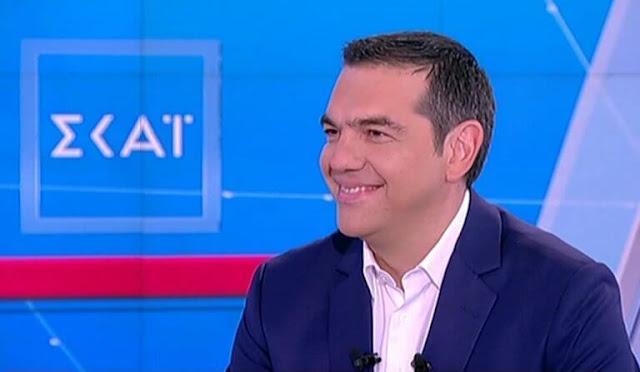 Ο Αλέξης Τσίπρας, με ηγετική εμφάνιση μέσα στον «εχθρικό» Σκάι, αποδόμησε πλήρως την αντικυβερνητική προπαγάνδα της ΝΔ και των φιλικών της ΜΜΕ – VIDEO