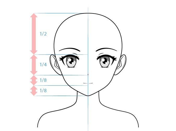 Anime yandere gambar wajah karakter wanita