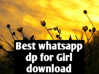 Best WhatsApp DP for girl