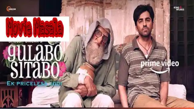 Gulabo Sitabo Amazon Story Cast Crew and Release Date