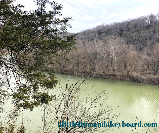 Stunning view of the Kentucky River from the overlook at Raven Run Nature Sanctuary.