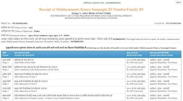 mksy online application receipt