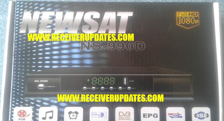 NEWSAT NS-990D HD RECEIVER NEW SOFTWARE TEN SPORTS OK - Receiver Updates