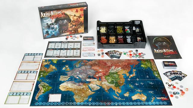 Axis & Allies & Zombies (il contenuto della scatola)