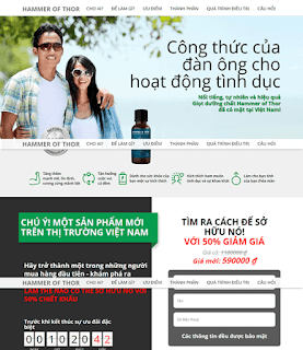 Giao diện Web Bán 01 sản phẩm Langding Page - Theme Blogspot Langding Page - Blogspotdep.com
