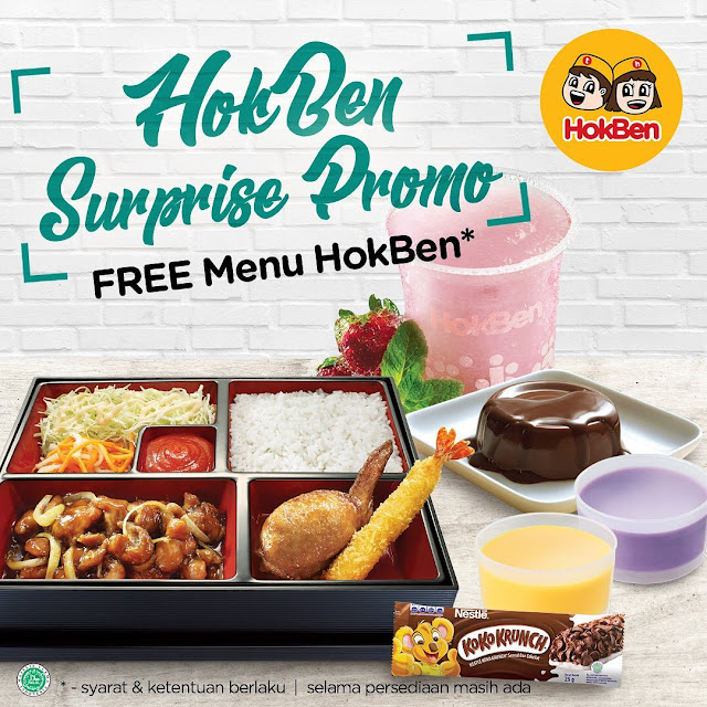 #Hokben - #Promo HokBen Friends Surprise Promo (s.d 30 Des 2019)