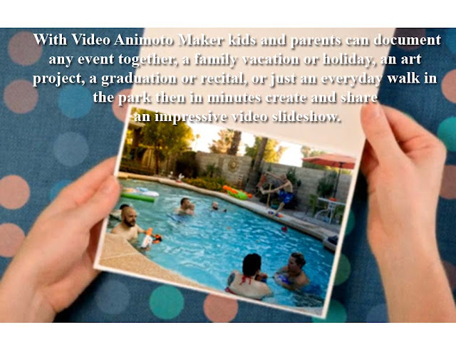 document your daily events with animoto video maker