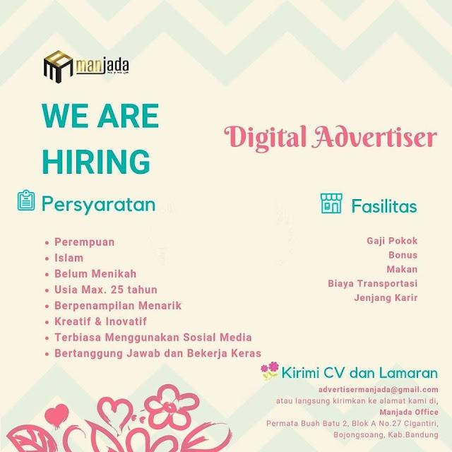 Lowongan Kerja Digital Advertiser di Bandung