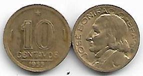 10 centavos, 1955