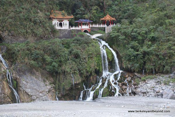 Eternal Spring Shrine/Changchun Shrine at Taroko Gorge National Park in Hualien, Taiwan