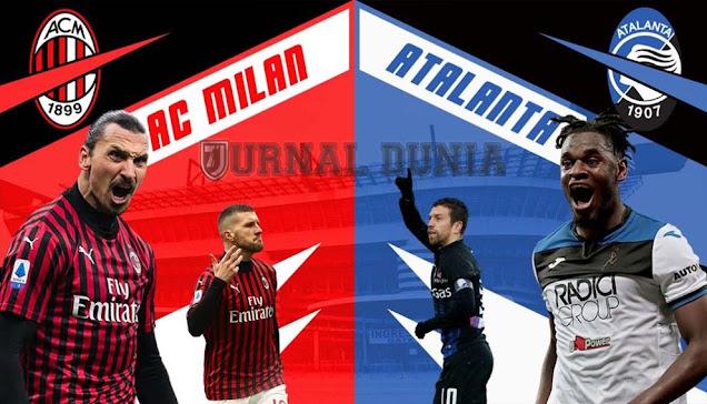 Prediksi AC Milan vs Atalanta , Sabtu 23 Januari 2021 Pukul 23.00 WIB @RCTI @beIN Sports
