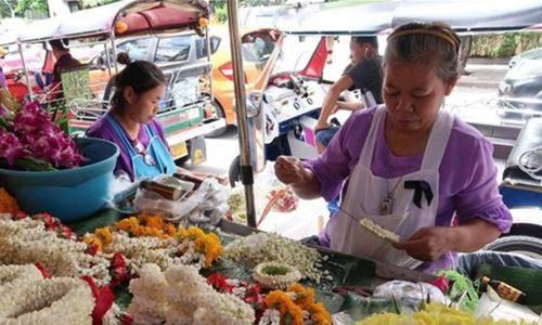 Truyền thống sắc màu bán hàng rong ở Thái Lan 12