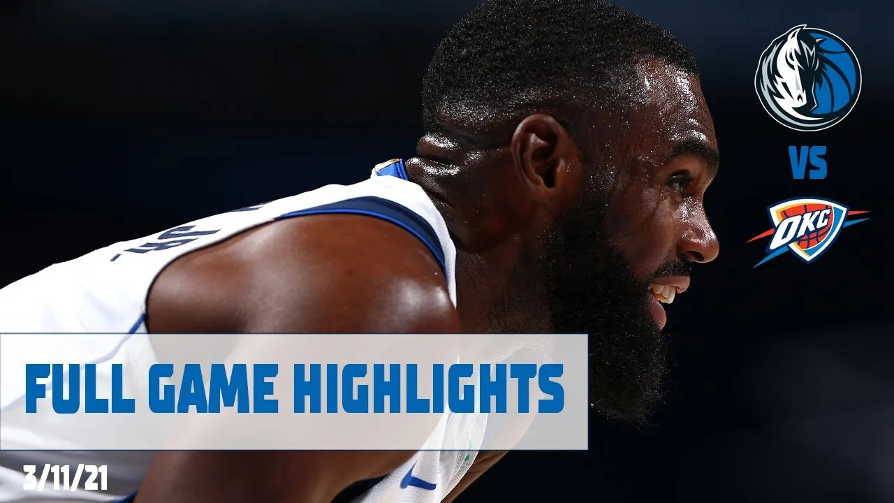 Tim Hardaway Jr. 24pts vs OKC   March 11, 2021   2020-21 NBA Season