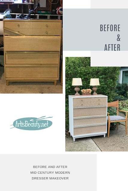 BEFORE AND AFTER MCM DRESSER MAKEOVER BY ARTISBEAUTY.NET