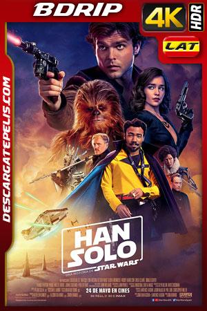 Han Solo: Una historia de Star Wars (2018) 4k BDrip HDR Latino – Ingles