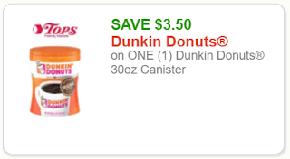picture regarding Dunkin Donuts Coupons Printable identified as Dunkin Donuts Espresso: Substantial-Expense Printable Coupon Price savings