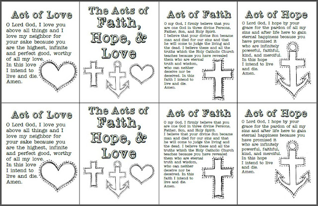 Look to Him and be Radiant Acts of Faith, Hope, and Love Prayer