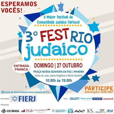 3º Fest Rio Judaico