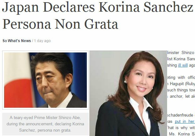 Japan Declares Korina Sanchez as Persona Non Grata on Typhoon Ruby News Commentary