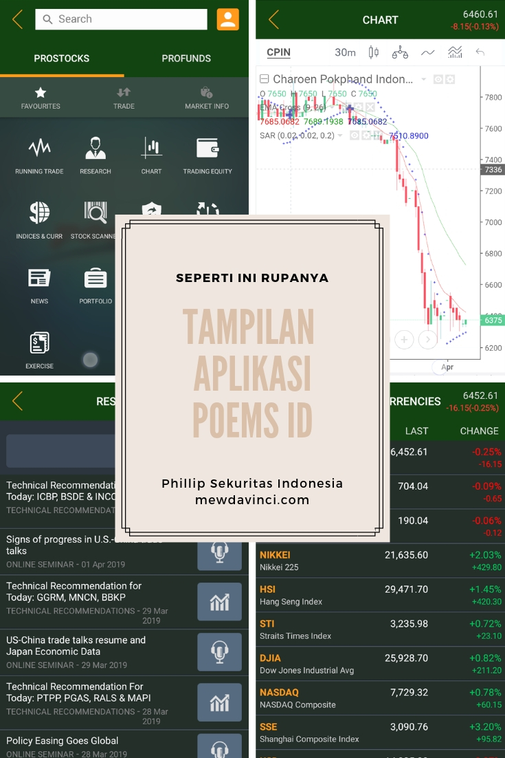 tampilan aplikasi POEMS ID di android