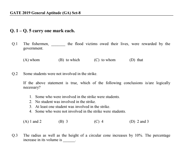 gate previous year aptitude questions with solutions pdf