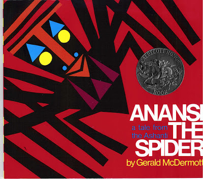 Cover of Anansi the Spider by Gerald McDermot