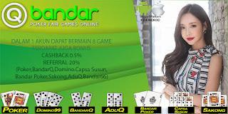 Promo Bonus Agen Bandar66 Online QBandar - www.Sakong2018.com