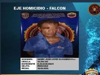 Abusó y mató a su prima de 17 años en Falcón