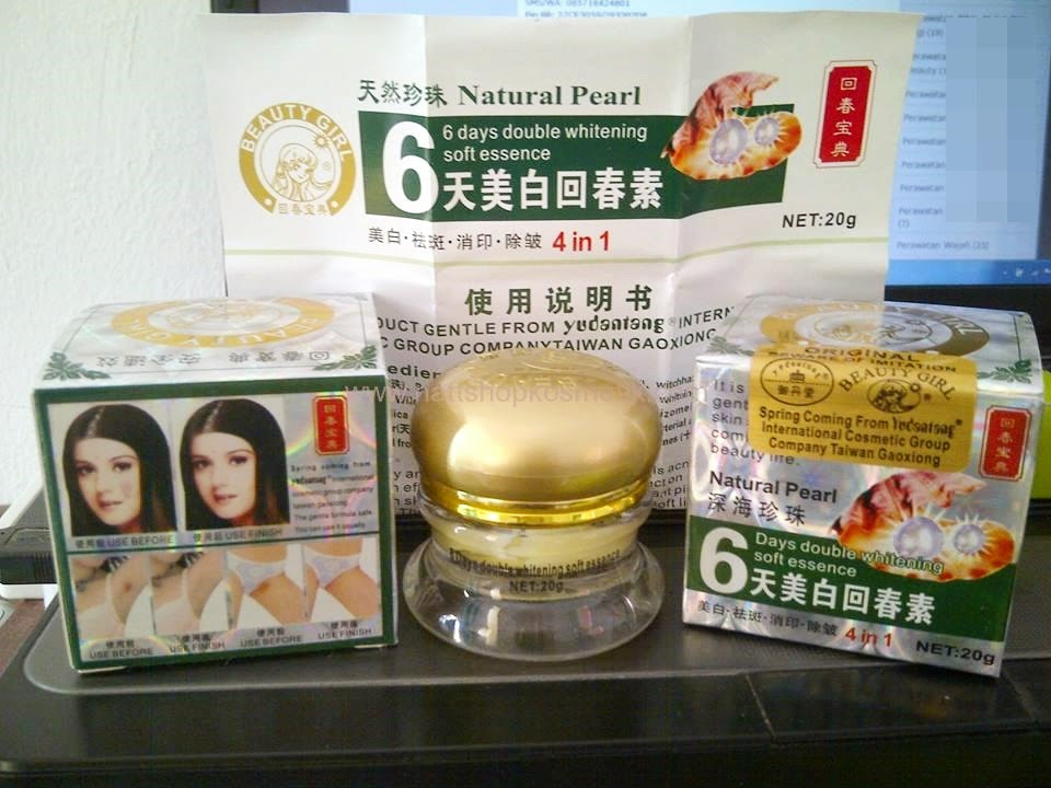 Beauty Girl 6 Days Double Whitening