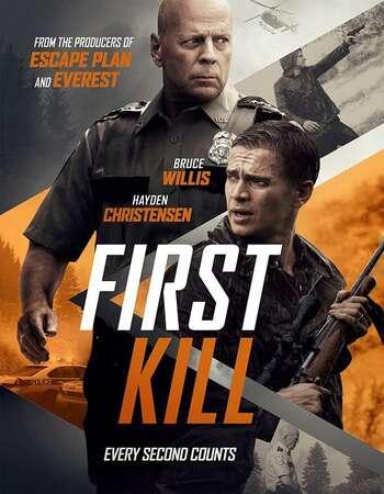 First Kill 2017 Hindi Dual Audio 300MB BluRay 480p ESubs