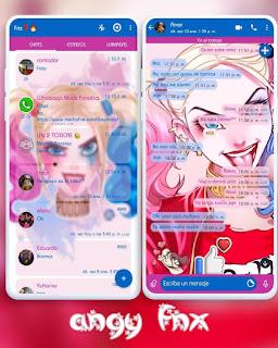 Harley Girl Theme For YOWhatsApp & Aero WhatsApp By Ave fénix