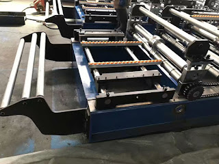 roll forming machine feeder and guider
