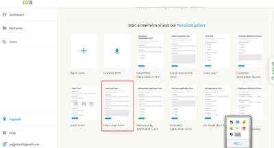 cara membuat contact us diblog