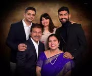 narayan jagdeesan family