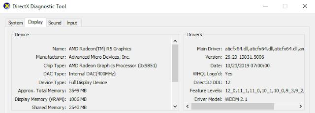 Cek Spesifikasi VGA AMD Radeon Radeon Adrenaline 2020