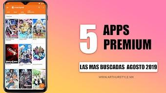 Top 5 Aplicaciones PREMIUM CON TODO ILIMITADO || Mas Buscadas 2019