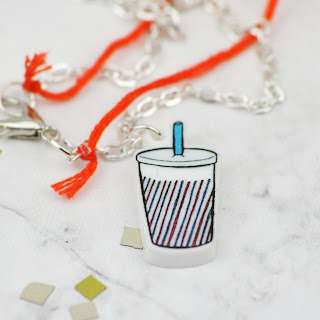 Lovelaughslipstick blog - House Of Wonderland Jewellery Club Pizza Party Themed Monthly Jewellery Subscription Boxes Review