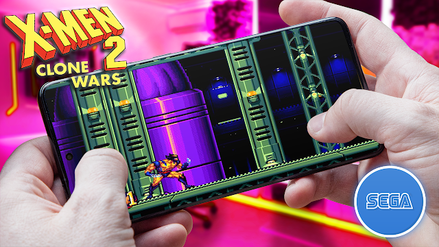X-Men 2: Clone Wars Para Teléfonos Android (ROM SEGA)