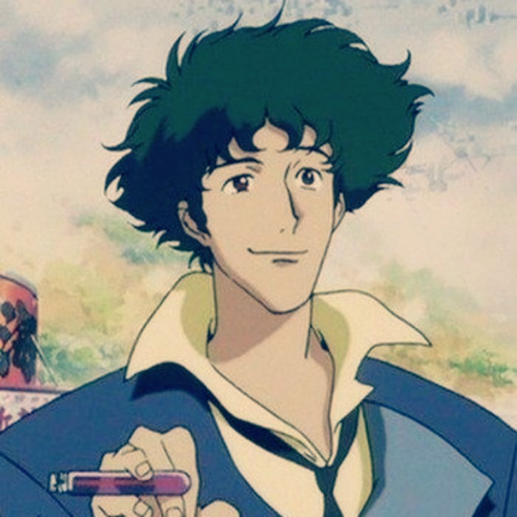 Spike spiegel (Cowboy Bebop) anime boy.