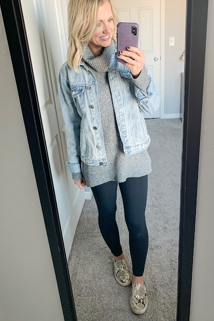 Winter casual outfit || Thrifty Wife Happy Life