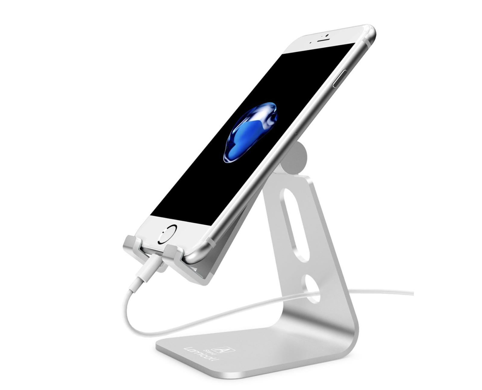 Porta Iphone Da Scrivania.Geniale Supporto Da Tavolo Orientabile Per Iphone E Non Solo